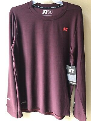 b92f573b7 NWT RUSSELL DRI-POWER 360 Youth Long Sleeve T-Shirt/Active Size L 10 ...