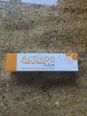 Activon Tube 100% Medical Grade Manuka Honey Advanced Wound Care Anti Bacterial