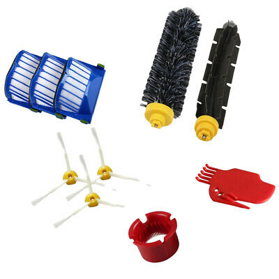Vacuum Cleaner HEPA Filter Brush Beater Side Replacement Kit For 600 Series