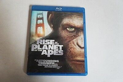 Rise Of The Planet Of The Apes Blu-Ray 2011 James Franco