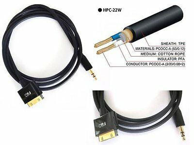 Fiio L30 LOD Cable Ipod/iphone to 3.5mm Jack Line out. (100cm long)