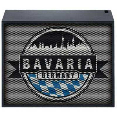 Mac audio bt style 1000 bavaria altoparlante bluetooth aux nero