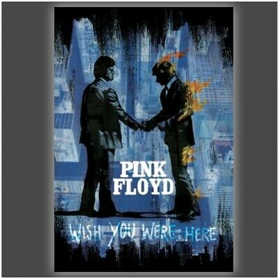 Pink Floyd Wish You were Here Poster Print by Stephen Fishwick (24 x 36)