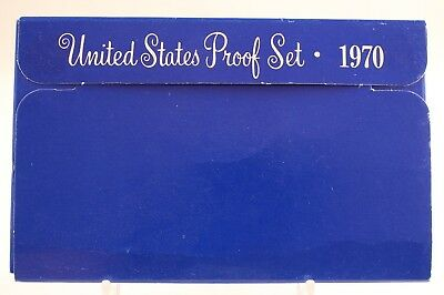1970 S United States Proof Set <Five Beautiful Ch-Bu Coins>  03/13