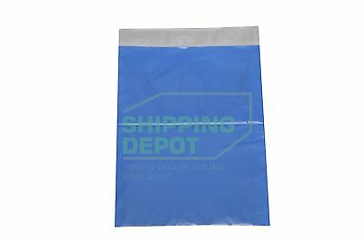 100 10x13 BLUE Colored Boutique POLY MAILERS Self Sealing Plastic Bags