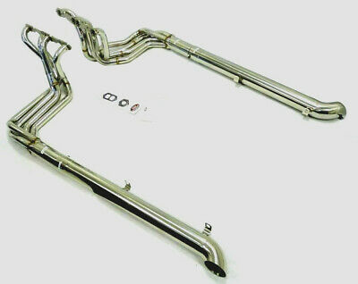 Max. Performance SBC Manifold With Side Pipes Fits Chevy Corvette 305 327 350