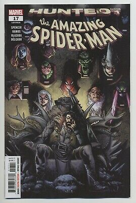 AMAZING SPIDER-MAN #17 MARVEL comics NM 2019 Spencer Ramos HUNTED 1 🕷️🕷️🕷️
