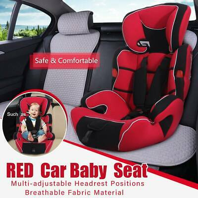 Kids Car Seat Group 0/1/2/3 ,9-36 KG 9-12Y in 1 Convertible Baby Child Safety Bo