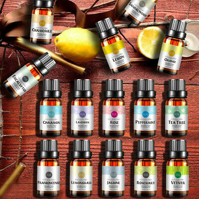 Essential Oils Pure Aromatherapy Therapeutic Natural 2x 3x 6x 8x 12x 15x Oil Set