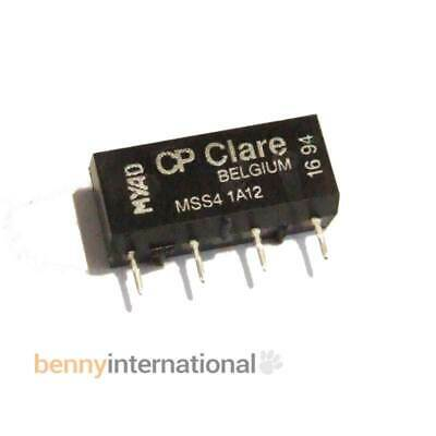 12V REED RELAYS MSS41A12 SPST-NO Through Hole 500 ohm 2A  CP CLAIRE