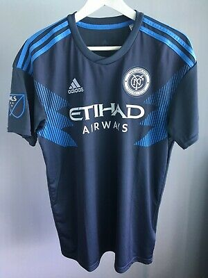 12caad7eb5d ADIDAS NEW YORK City FC NYFC Men s Soccer Jersey MLS M Medium ...