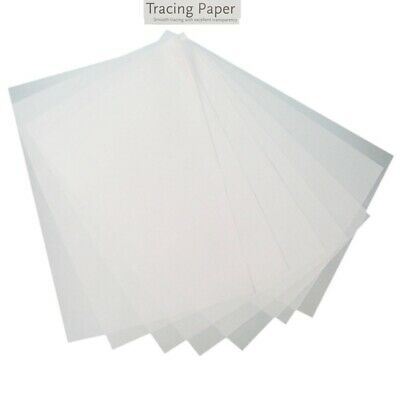 A4 A5 A6 Tracing Paper Translucent Calligraphy High Quality Smooth Sheets 65gsm