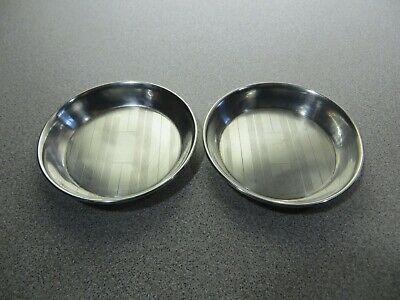 Sterling Silver Tray / Dish / Coaster - LOT OF 2