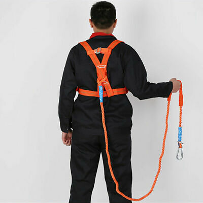 EG_ Polyamide Alloy plastic Full Body Safety Work Harness Fall Arrest Personal p