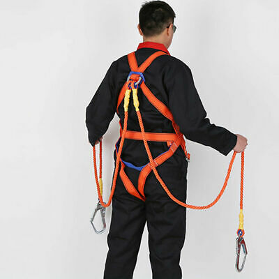 EG_ Polyamide Alloy paper Full Body Safety Work Harness Fall Arrest Personal she
