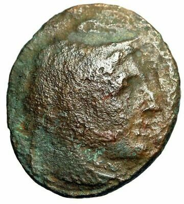 "PORTRAIT Alexander III The Great Coin Struck in Ptolemaic Kingdom ""Eagle"" NICE"