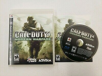 Call Of Duty: Modern Warfare 4 For PlayStation 3 PS3 COD NO SCRATCHES MINT