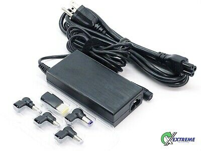 New Targus Universal Laptop Charger AC Adapter w/ 5 Tips APA90US 90W
