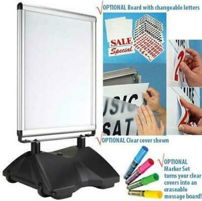 """Rolling Base Frame for 22x28"""" posters"""