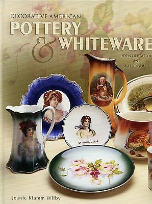 Decorated American Pottery China - Patterns Types Makers Marks  / Book + Values