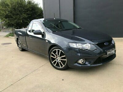 2011 Ford Falcon FG XR6 Limited Edition Ute Super Cab 2dr Spts Auto 6sp, 580k A