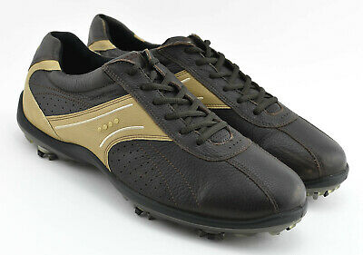 44b64b270 Mens Ecco Oxfords Dress Golf Shoes Size 46 Eu Dark Brown Leather Us 12 -  12.5