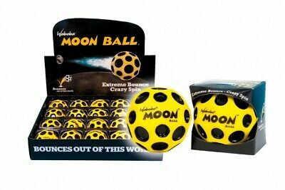 "Waboba Moon Ball Yellow & Black, 2"" size"