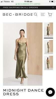 fcf79854d39 BEC AND BRIDGE kaia maxi dress brand new with tags size 8 -  285.00 ...