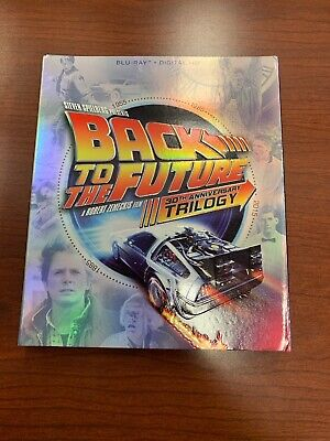 Back to the Future Trilogy (Blu-ray Disc, 2015, 4-Disc Set) 30th Anniversary