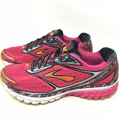 68f97f8b3fd Brooks Womens Ghost 7 Virtual Pink Athletic Running Shoes Sneakers Sz 8.5 M