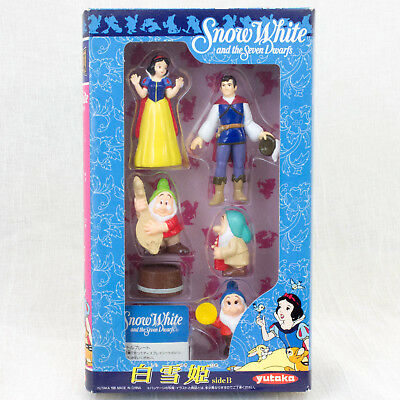 RARE! Disney Snow White and Seven Dwarfs Movie Friends Mini Figure B Set Yutaka