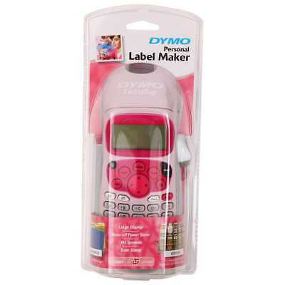 DYMO LetraTag Personal Label Maker - Pink  (FREE POSTAGE)
