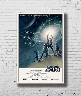 24x36 14x21 Poster Guardians of the Galaxy Marvel Movie Star Wars Art Hot P-1895