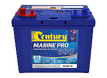 Century Marine Pro 680 / 75Ah Built For Boats  Just Boats 24 Months National War
