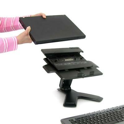 "Notebook Lift Stand Laptop Mount 6"" Height Adjustment Ergotron Neo-Flex Black"