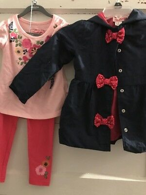 $55 Girls Flapdoodles three piece outfit with  coat S2