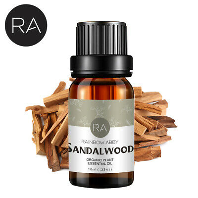 Natural Pure Sandalwood Essential Oil Aromatherapy Sandalwood Diffuser 10ml US