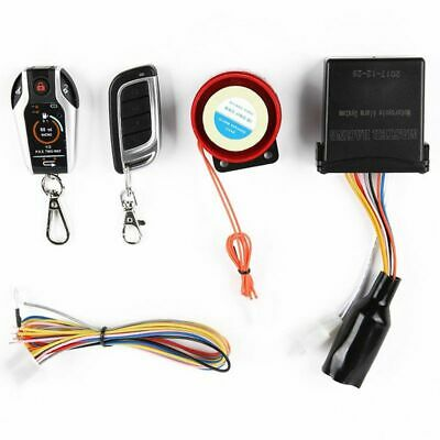 2 Two Way Motorcycle Alarm System Scooter Anti-Theft Burglary Alarm Remote H6H7