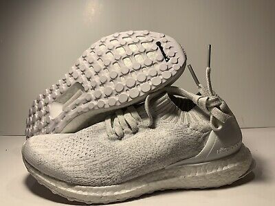 c8ace460dc510 ADIDAS ULTRABOOST UNCAGED Kids Youth Running Shoes Cloud White ...