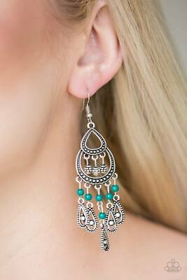 3a86eca1a PAPARAZZI ACCESSORIES JEWELRY NWT Eastern Excursion - Green Earrings ...