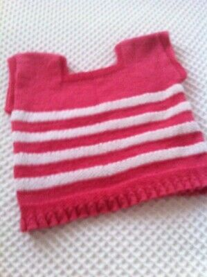 Hand knitted toddler vest size 2