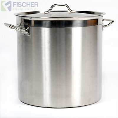"""brand New"" 25L Commercial 18/10 Stainless Steel Stock Pot Cookware Sp-25"