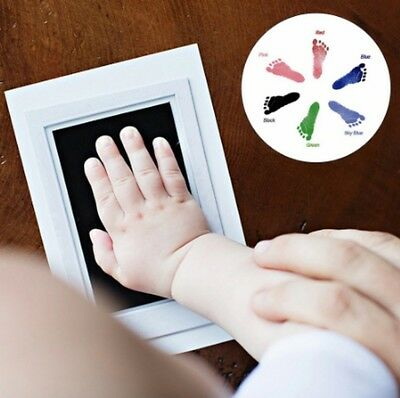 2019 Baby Paw Print Pad Foot Photo Frame Touch Ink Pad Creative Souvenir Gift