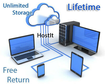Unlimited Cloud storage Lifetime Pack - Private Account - Secure your files SALE