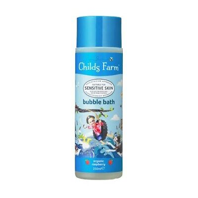 Childs Farm Raspberry Sensitive Bubble Bath 250ml FREE P&P