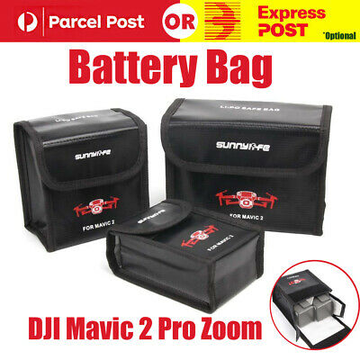 BATTERY BAG STORAGE Lipo Safe Case Explosion-Proof For DJI Mavic 2