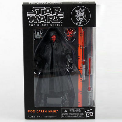 """Darth Maul:Star wars the Black Series 6""""Action Figure Xmas Collection Gift"""