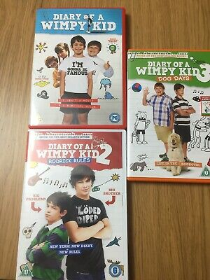 Diary Of A Wimpy Kid Dvd Bundle