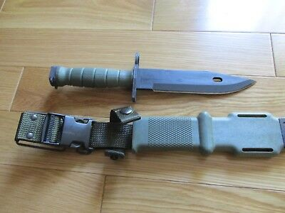 Ontario M9 Bayonet-NSN 1095-01-277-1739!!-NEW IN THE WRAPPER!-MADE IN USA! COOL!
