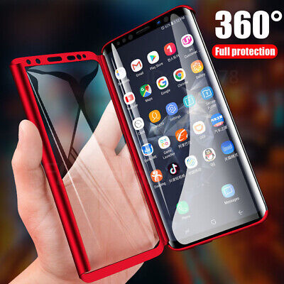 360 Full Cover Phone Case +Screen Protector For Samsung Galaxy S10 Plus S10e S10